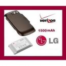 New OEM LG EXTENDED BATTERY AND EXTENDED DOOR FOR OCTANE VN530 VERIZON